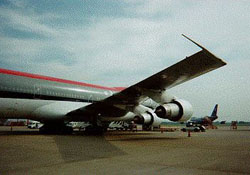 B747 Rear Side View