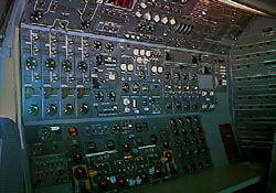 B747 Second Officer Panel